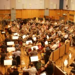 With 98 of my closest friends… Another day at the Abbey Road office, layin' down a few tracks…