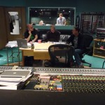 """Playback, discussion and analysis, with Rick Giovinazzo, orchestrator and John Ottman, composer, """"Jack the Giant Slayer"""", Abbey Road, 2012"""