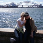 My wife, Bonnie; the Sydney Bridge; and The Office…