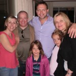 With Frank Celata (Princiapl Clarinet, Sydney Symphony) and family…